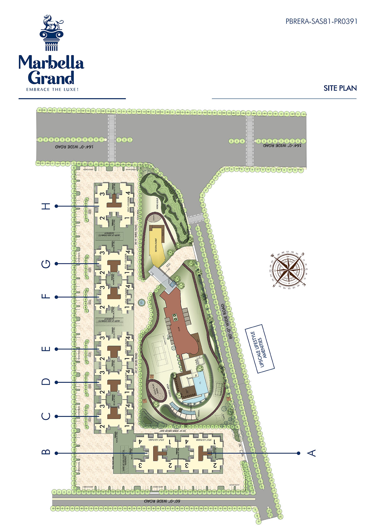 Marbella Grand Site Plan